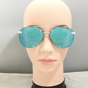 Quay Australia Rebelle 60mm Aviator Sunglasses